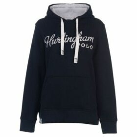 Hurlingham Polo 1875  Essential Tamara Hoody Ladies  women's Sweatshirt in Blue