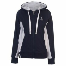Hurlingham Polo 1875  Lorna Zip Hoody Ladies  women's Sweatshirt in Blue