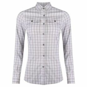Eastern Mountain Sports  Journey Plaid Long Sleeve Shirt Ladies  women's Shirt in Other