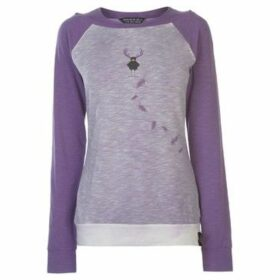 Chillaz  Serle Sweater Ladies  women's Sweatshirt in Purple