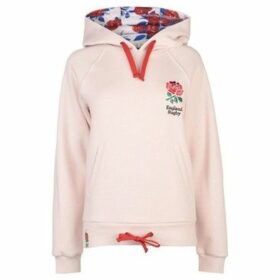Rfu  Red Roses Hoodie Ladies  women's Sweatshirt in Pink
