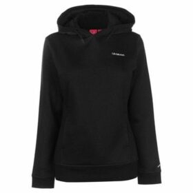 L.A. Gear  Over The Head Hoody Ladies  women's Sweatshirt in Black