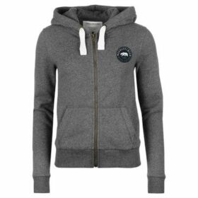Soulcal  Signature Zip Hoodie  women's Sweatshirt in Grey