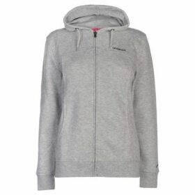 L.A. Gear  Full Zip Hoody Ladies  women's Sweatshirt in Grey