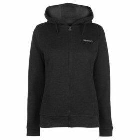 L.A. Gear  Full Zip Hoody Ladies  women's Sweatshirt in Black