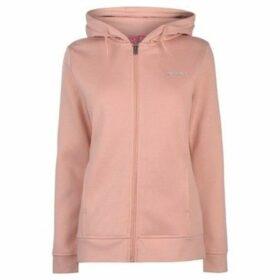 L.A. Gear  Full Zip Hoody Ladies  women's Sweatshirt in Pink