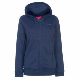 L.A. Gear  Full Zip Hoody Ladies  women's Sweatshirt in Blue