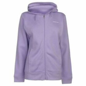 L.A. Gear  Full Zip Hoody Ladies  women's Sweatshirt in Purple