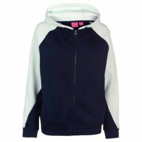 L.A. Gear  Cut and Sew Full Zipped Hoody Ladies  women's Sweatshirt in Multicolour