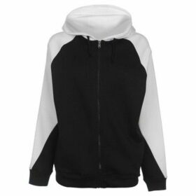 L.A. Gear  Cut and Sew Full Zipped Hoody Ladies  women's Sweatshirt in Multicolour