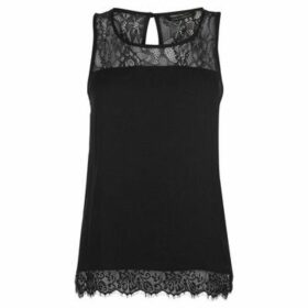 Only  Mika Lace Top Ladies  women's Blouse in Black