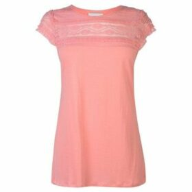 Rock And Rags  Lace Top Ladies  women's Blouse in Pink
