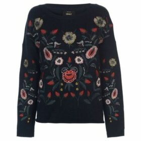 Only  Uma Embroidered Knit Jumper  women's Sweater in Other