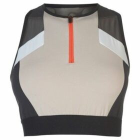 Reebok Sport  Colour Block Crop Top Ladies  women's Blouse in Other