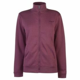 L.A. Gear  Full Zip Fleece Ladies  women's Sweatshirt in Purple