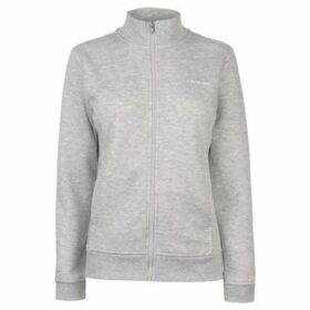L.A. Gear  Full Zip Fleece Ladies  women's Sweatshirt in Grey