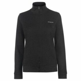 L.A. Gear  Full Zip Fleece Ladies  women's Sweatshirt in Black