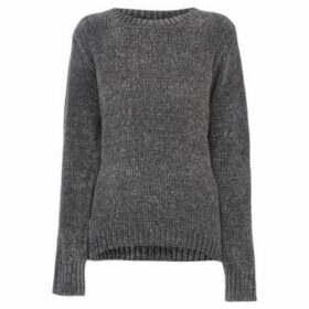 Soulcal  Chenille Jumper Ladies  women's Sweater in Grey
