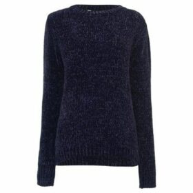 Soulcal  Chenille Jumper Ladies  women's Sweater in Blue