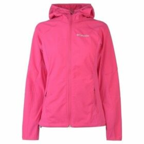 Columbia  Sweet Softshell Jacket Ladies  women's Sweatshirt in Pink