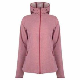 Columbia  Heather Softshell Jacket Ladies  women's Sweatshirt in Pink