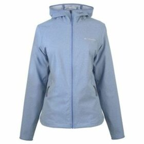 Columbia  Heather Softshell Jacket Ladies  women's Sweatshirt in Blue