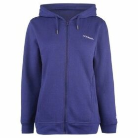 Donnay  Full Zip Hoody Ladies  women's Sweatshirt in Blue
