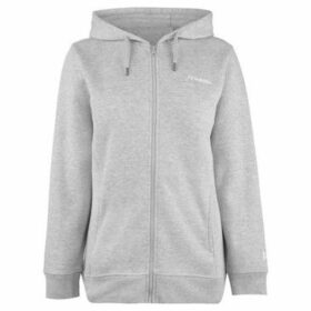 Donnay  Full Zip Hoody Ladies  women's Sweatshirt in Grey