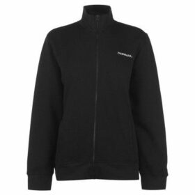 Donnay  Full Zip Fleece Ladies  women's Sweatshirt in Black