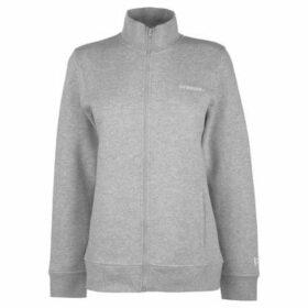 Donnay  Full Zip Fleece Ladies  women's Sweatshirt in Grey