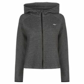 Everlast  Open Back Zipped Hoody Ladies  women's Sweatshirt in Grey