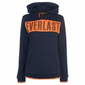 Everlast  Long Line OTH Hoodie Ladies  women's Sweatshirt in Blue