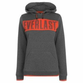 Everlast  Long Line OTH Hoodie Ladies  women's Sweatshirt in Grey