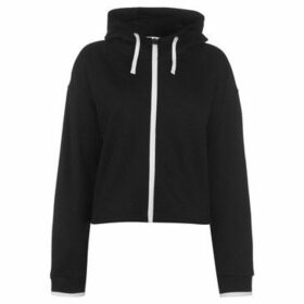Everlast  Crop Zip Hoodie Ladies  women's Sweatshirt in Black