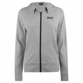 Everlast  Long Line Zip Hoodie Ladies  women's Sweatshirt in Grey