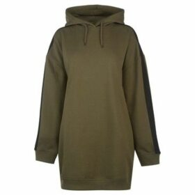 Firetrap  Luxe Hoody Dress Ladies  women's Sweatshirt in Green