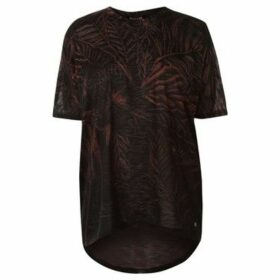 Firetrap  Lucy Print Top  women's Blouse in Multicolour