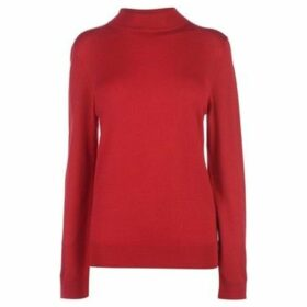 Full Circle  Turtle Neck Ladies  women's Sweater in Red