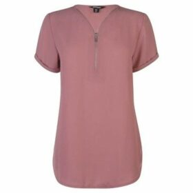 Golddigga  Woven Top Ladies  women's Blouse in Pink