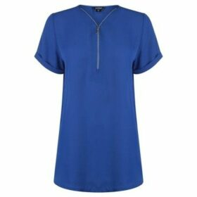 Golddigga  Woven Top Ladies  women's Blouse in Blue