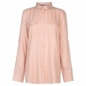 Kangol  Military Long Sleeve Shirt Ladies  women's Shirt in Pink