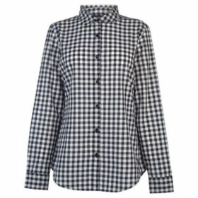 Kangol  Long Sleeve Check Shirt Ladies  women's Shirt in Multicolour