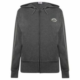 Lonsdale  Interlock Hoodie Ladies  women's Sweatshirt in Grey