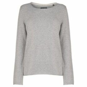 Marc O'Polo  Cotton Wool Jumper  women's Sweater in Grey