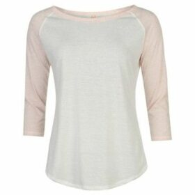 Miso  Raglan Sleeve Top Ladies  women's Blouse in Pink