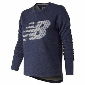 New Balance  Fleece Crew Sweatshirt Ladies  women's Sweatshirt in Blue