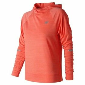 New Balance  Seasonless Hoodie Ladies  women's Sweatshirt in Orange