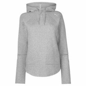 Puma  Evostripe Hoody Ladies  women's Sweatshirt in Grey