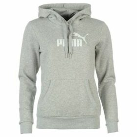 Puma  No1 Logo Ladies Hoody  women's Sweatshirt in Grey