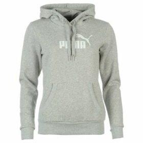 Puma  No1 Logo Ladies Hoody  women's Sweatshirt in Grey